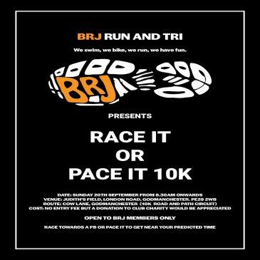 Race or Pace 10K Race