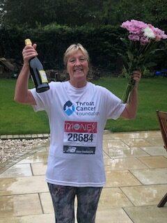 Virtual London Marathon Runners triumph in the rain
